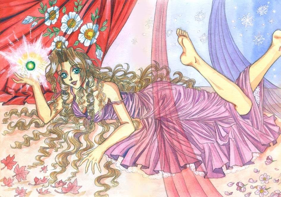 Aeris - four seasons by Autumn-Sacura