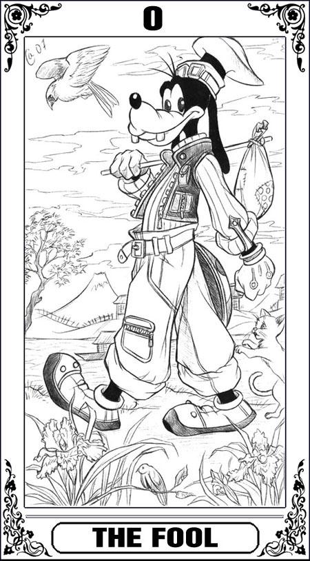 KH Tarot: The Fool by Autumn-Sacura