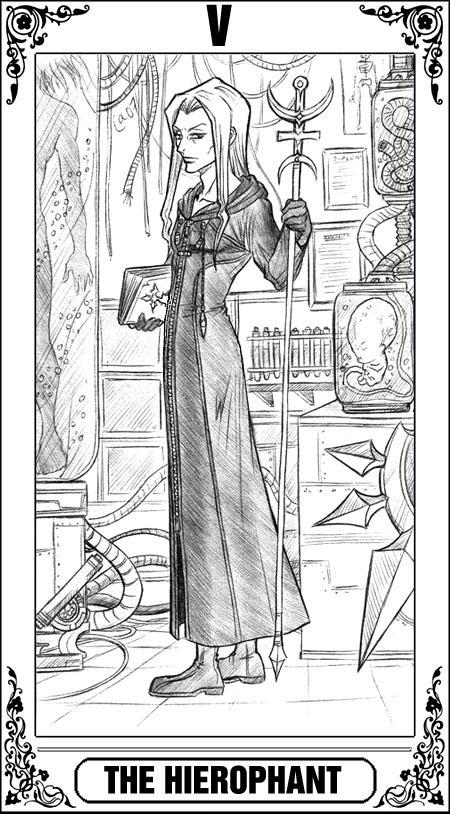 KH Tarot: The Hierophant by Autumn-Sacura