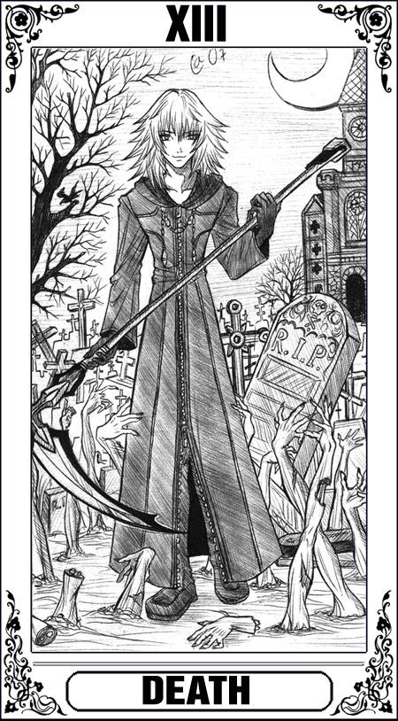 KH Tarot: Death by Autumn-Sacura