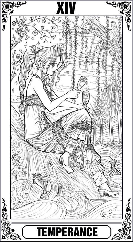 KH Tarot: Temperance by Autumn-Sacura