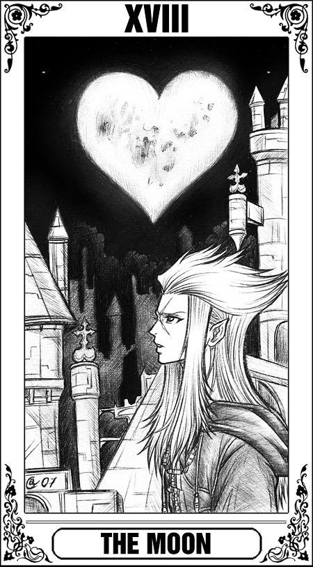 KH Tarot: The Moon by Autumn-Sacura