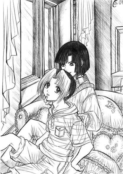 Hikaru no Go yaoi by Autumn-Sacura