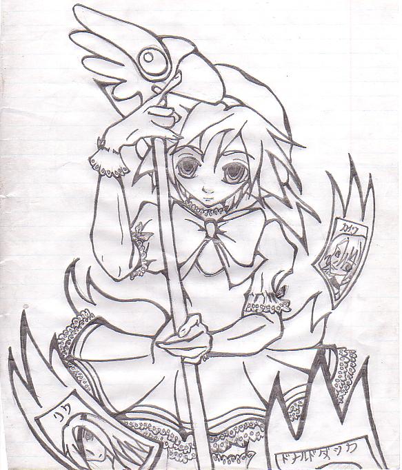 CardCaptor Sora by AxelXRoxas