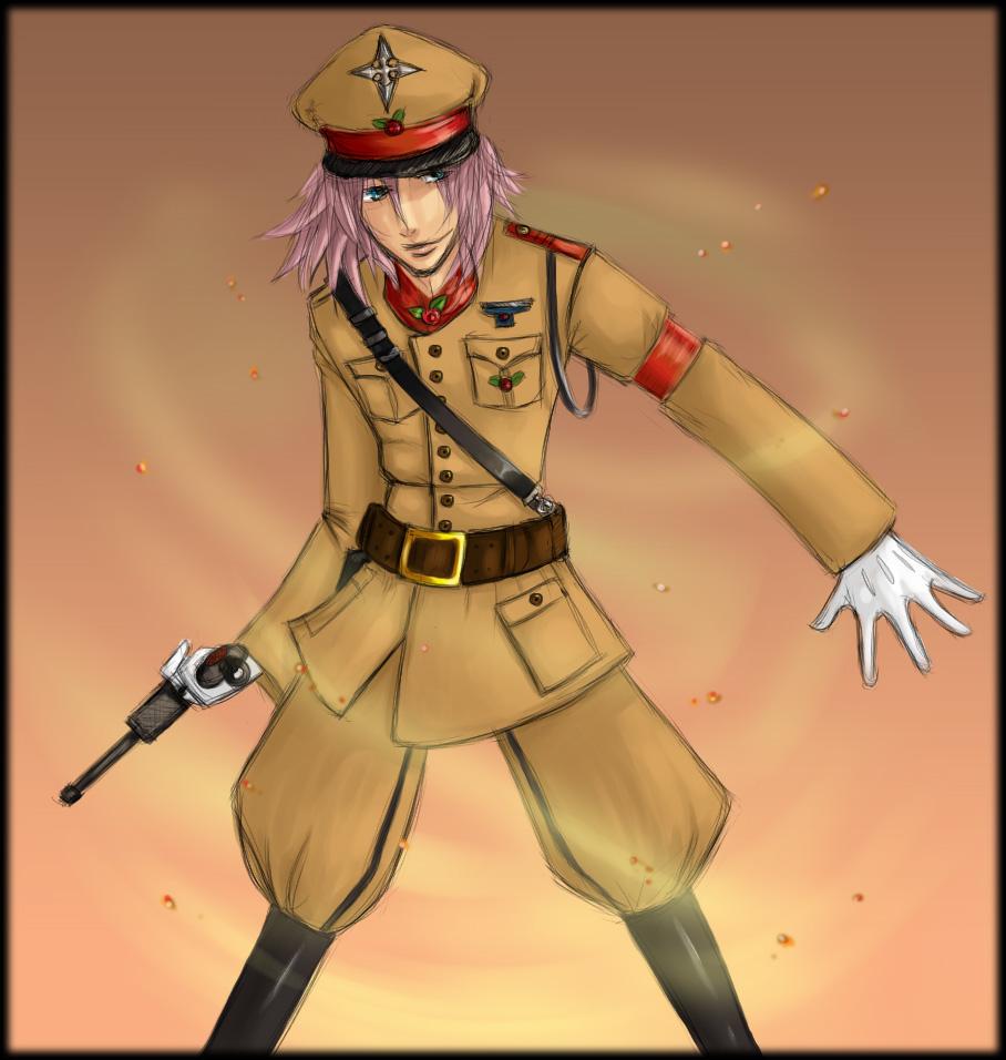 I love a man in uniform by AxelXRoxas