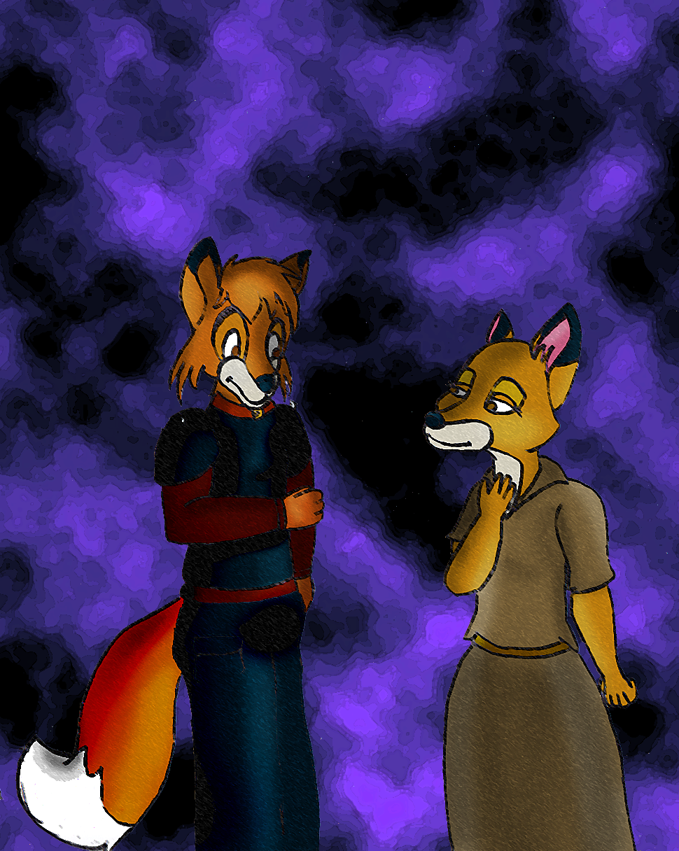 Tod and Vixie by Ayiana07