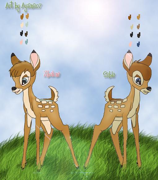 Sable and Zibel child by Ayiana07