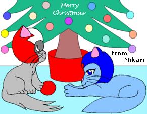 Mega and Proto Cats by AzureMikari