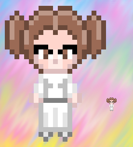 Princess Leia by AzureMikari