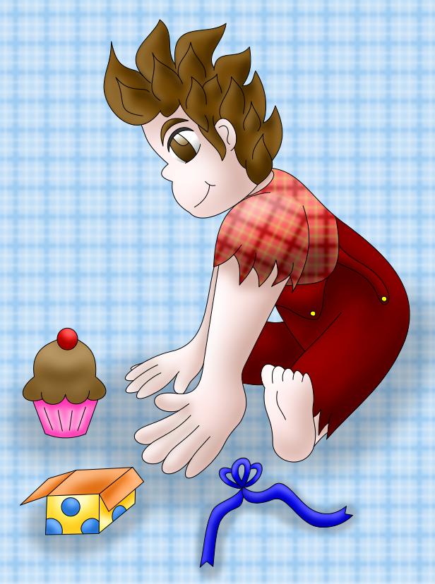 Ralph colored by AzureMikari
