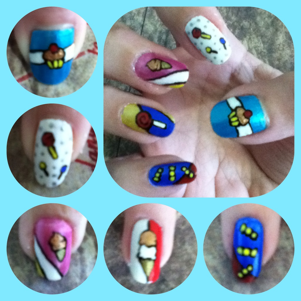 Sweet Manicure Right by AzureMikari