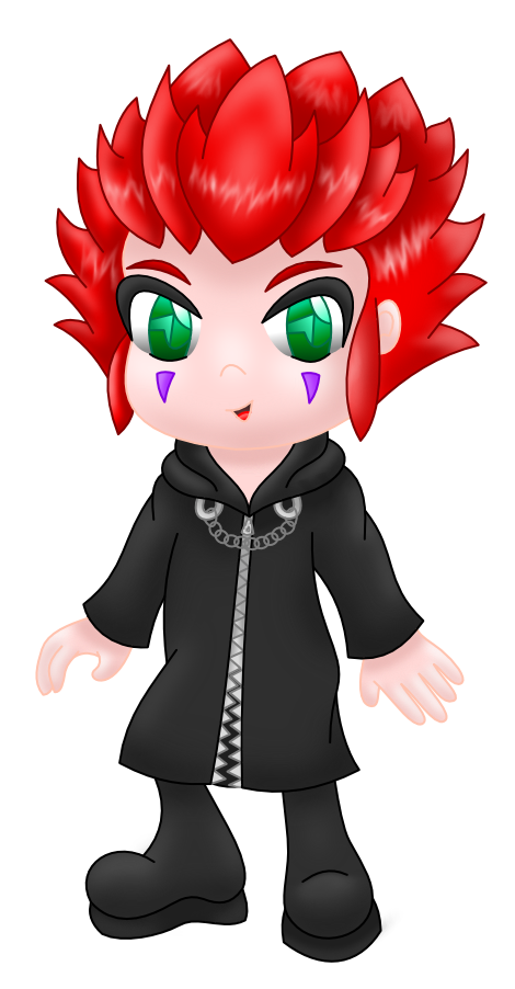 Axel by AzureMikari