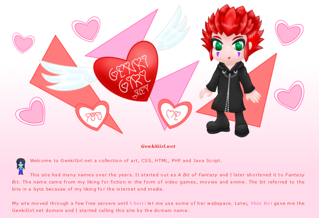 Axel layout by AzureMikari