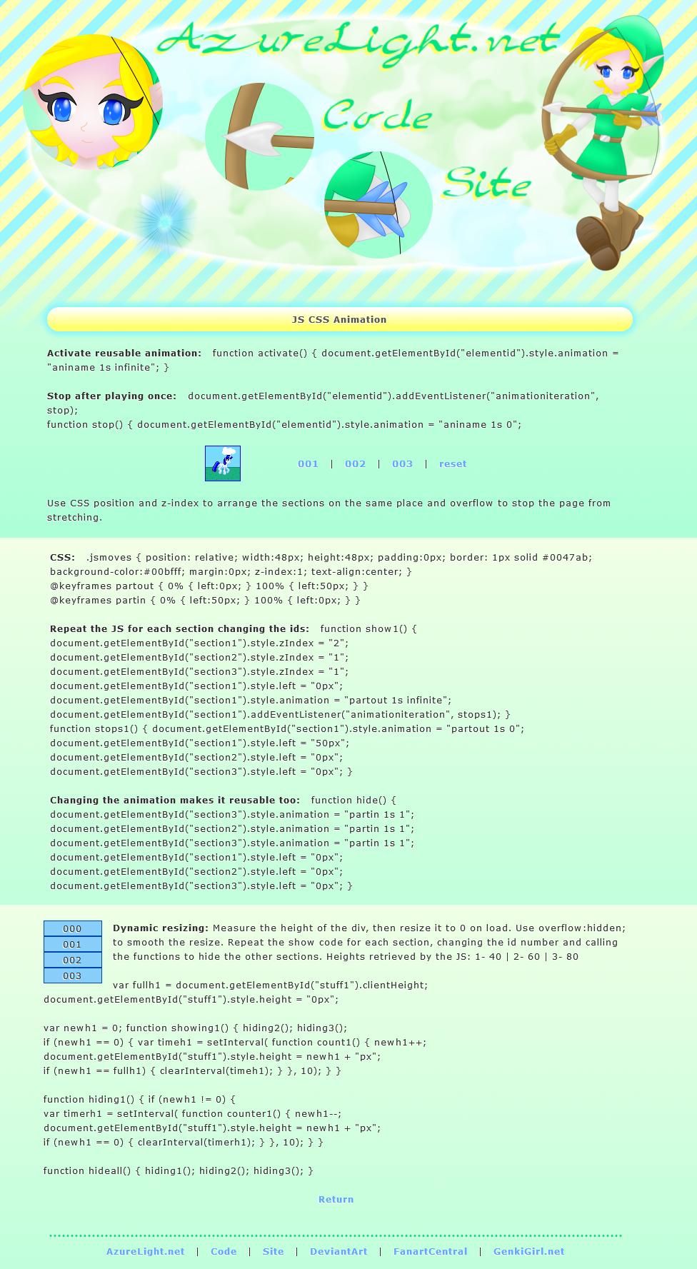 JS CSS by AzureMikari
