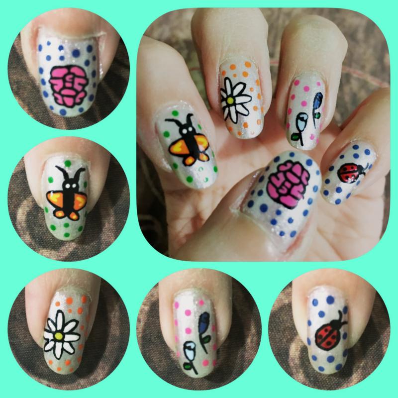 Spring Manicure left by AzureMikari