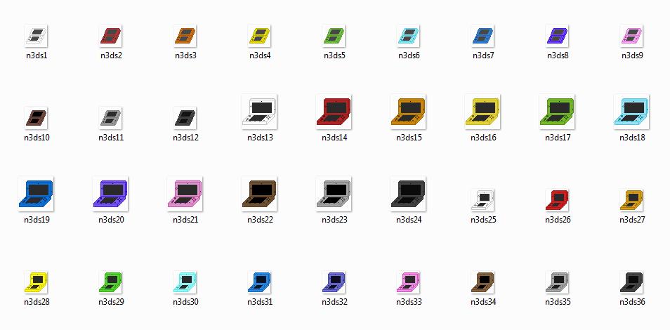 Nintendo 3DS pixels by AzureMikari