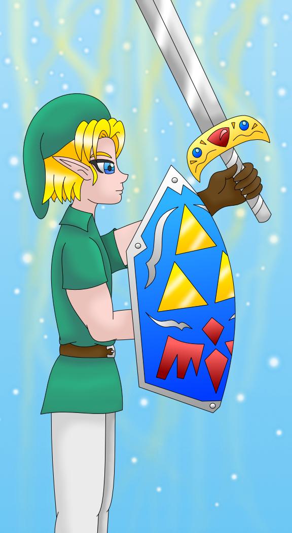 Link (Legend of Zelda) by AzureMikari