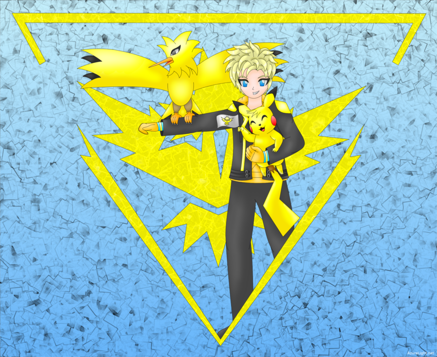 Spark - Pokemon Go by AzureMikari