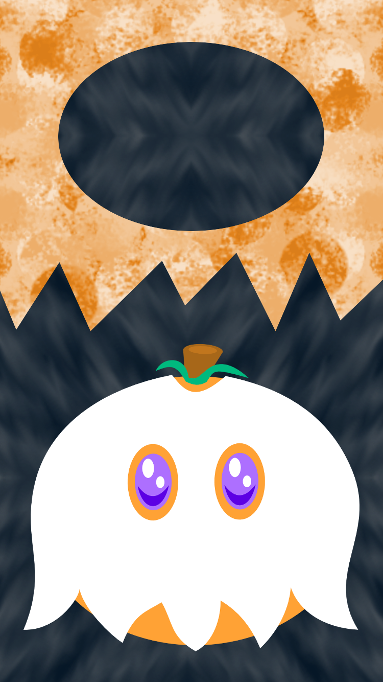 Halloween Pumpkin Lockscreen 1 by AzureMikari