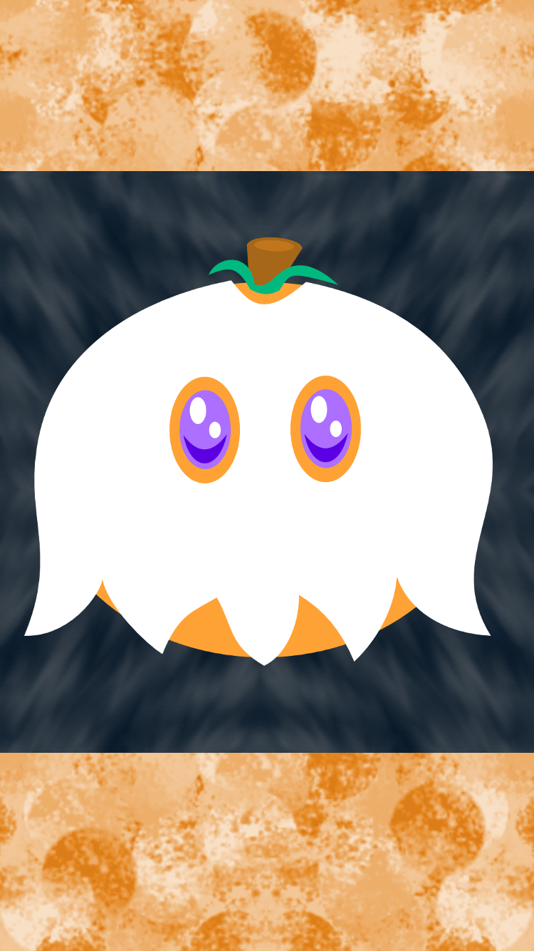 Halloween Pumpkin iPhone Wallpaper 1 by AzureMikari