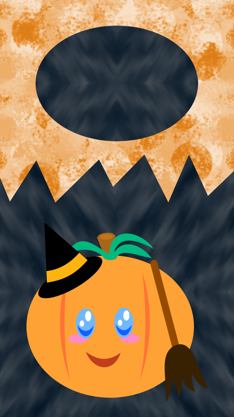 Halloween Pumpkin Lockscreen 2 by AzureMikari
