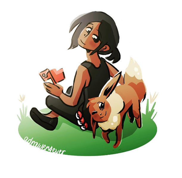 Eevee #CompareYourselfToAPokemon by a-drawer-4ever