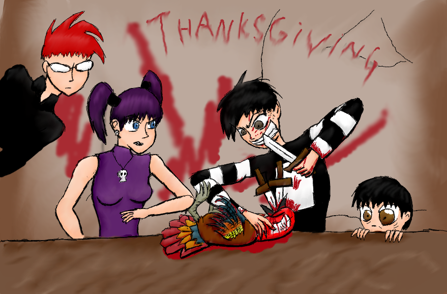 JTHM- Thanksgiving by abbix