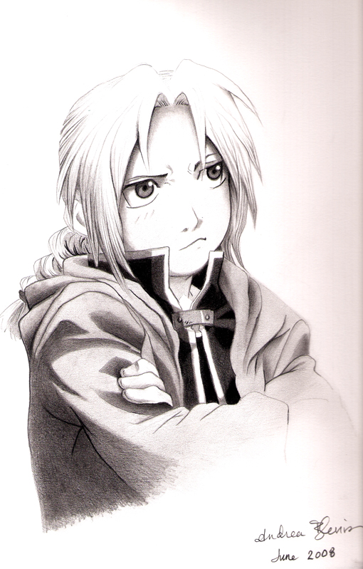 Edward Elric by ablevins
