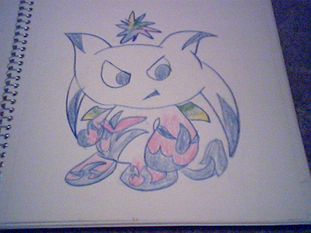 my couler chao (Dark type) by acethechao