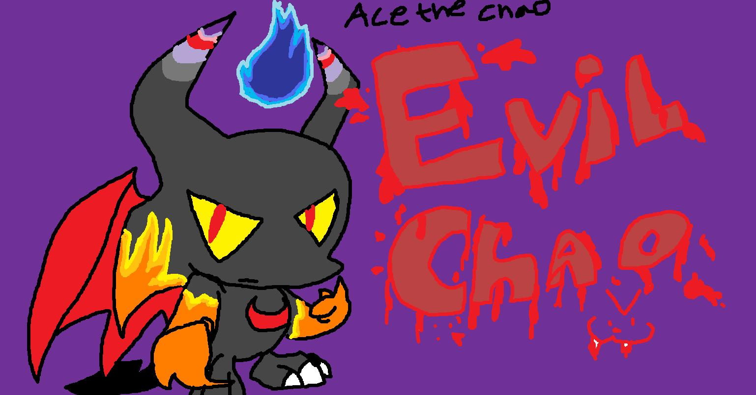 Evil Chao >:3 by acethechao