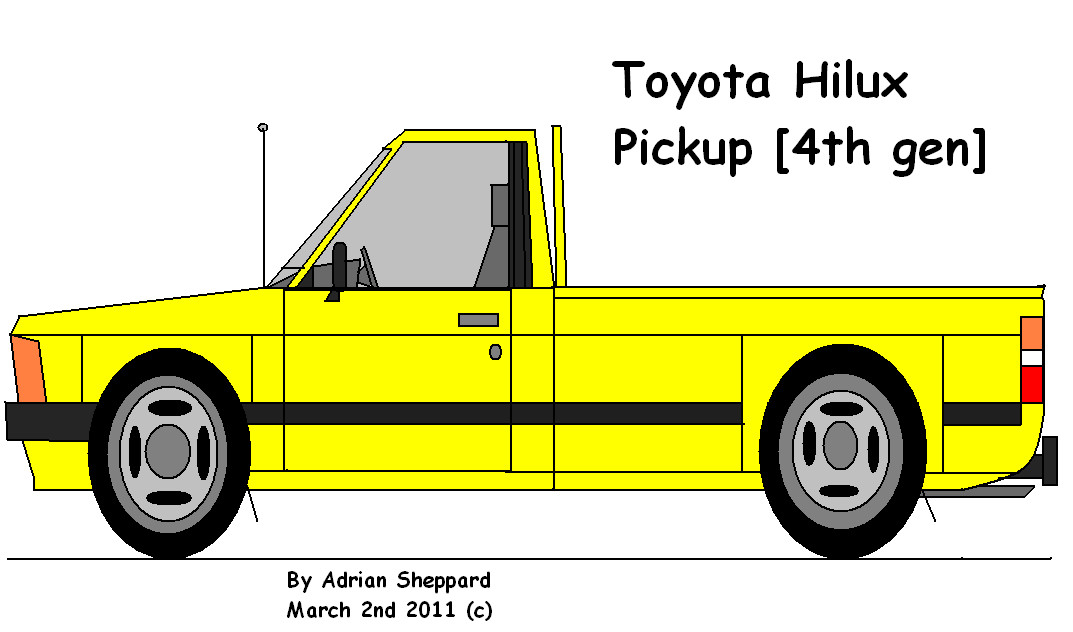 Toyota Hilux Pickup 4th Generation by adsheppard