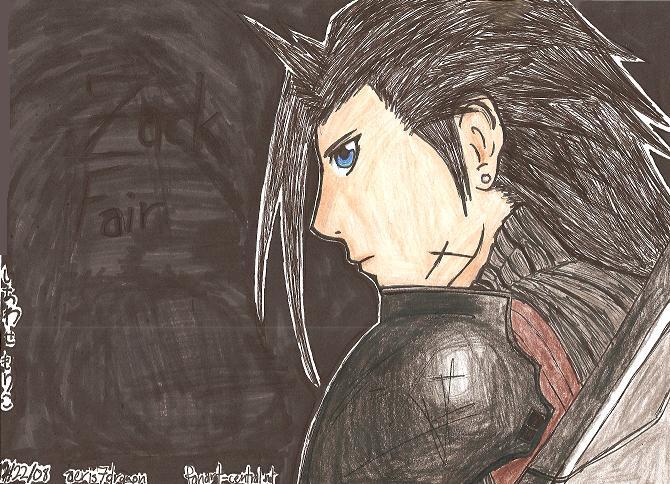 Zack Fair by aeris7dragon