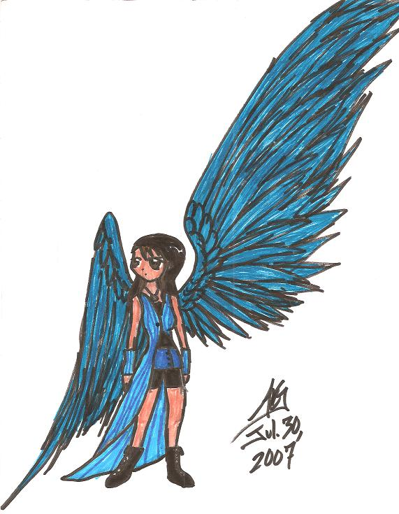 Old pic of Rinoa by aeris7dragon