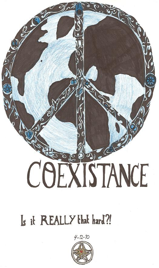 Coexistance; is it REALLY that hard? by aeris7dragon