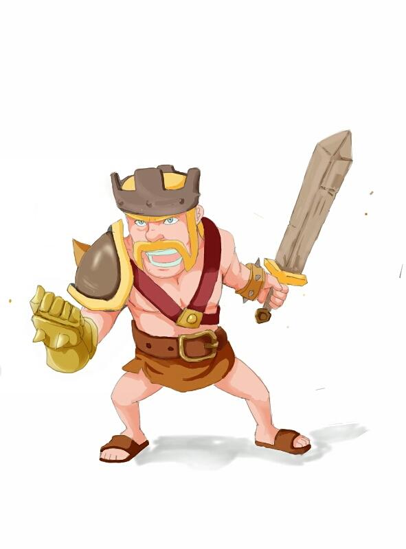 barbarian king by akiraraven