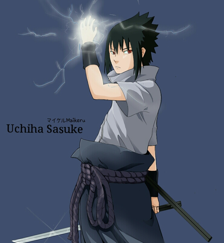 sasuke by akiraraven