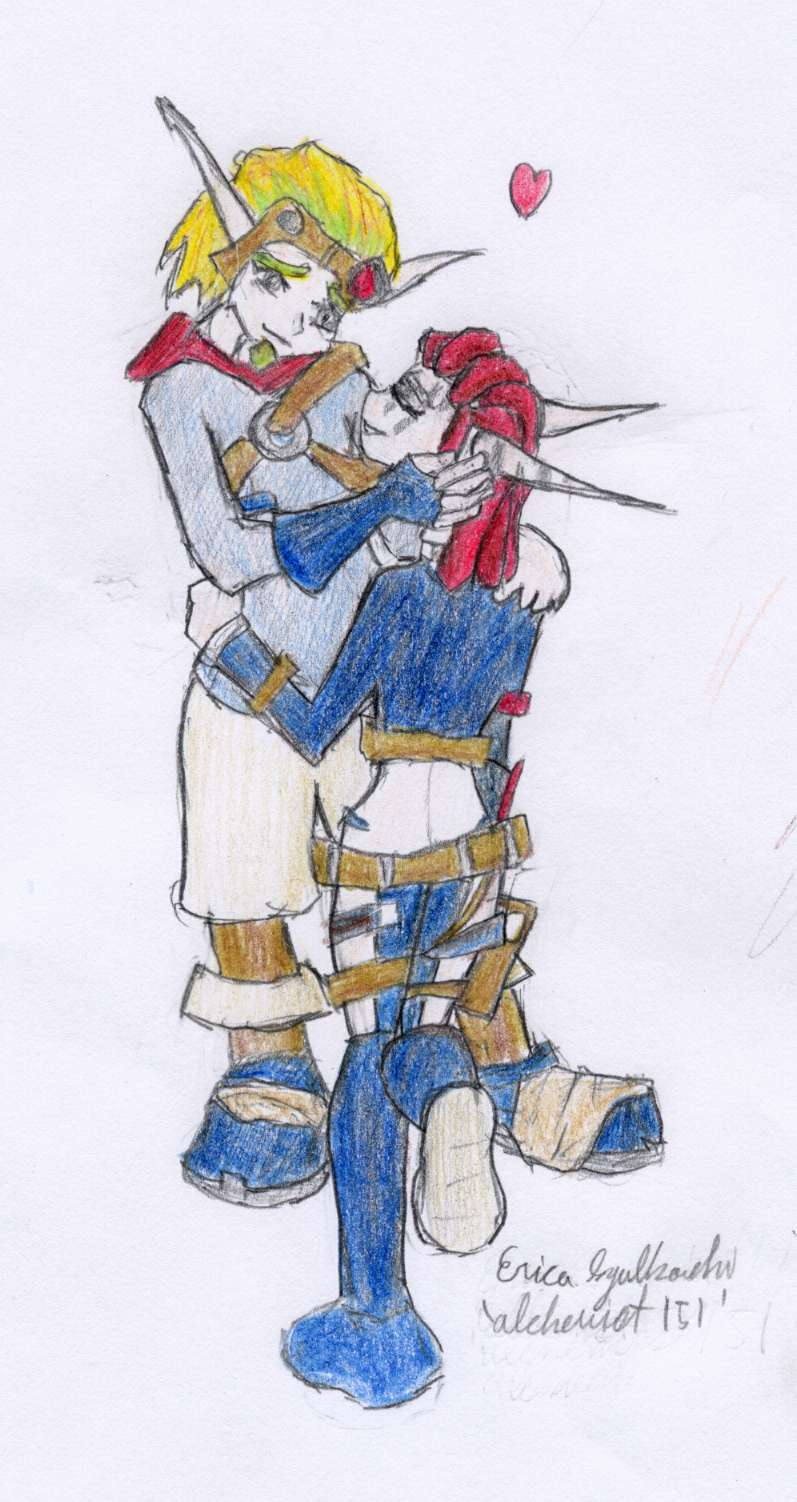 Ashelin *hearts* Jak by alchemist151
