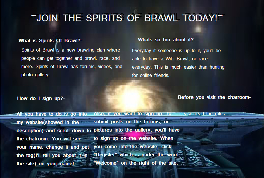 Join the Spirits Of Brawl! by ali32
