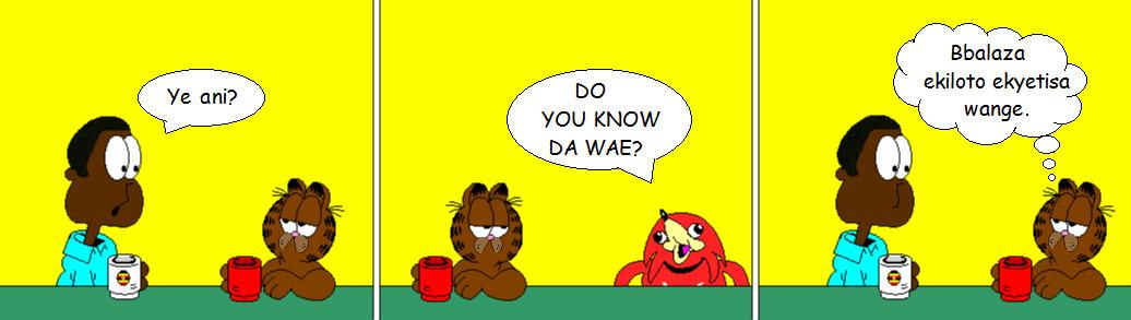 Garfield wa Yuganda - Da Bday pic for TeeJay87 by alitta2