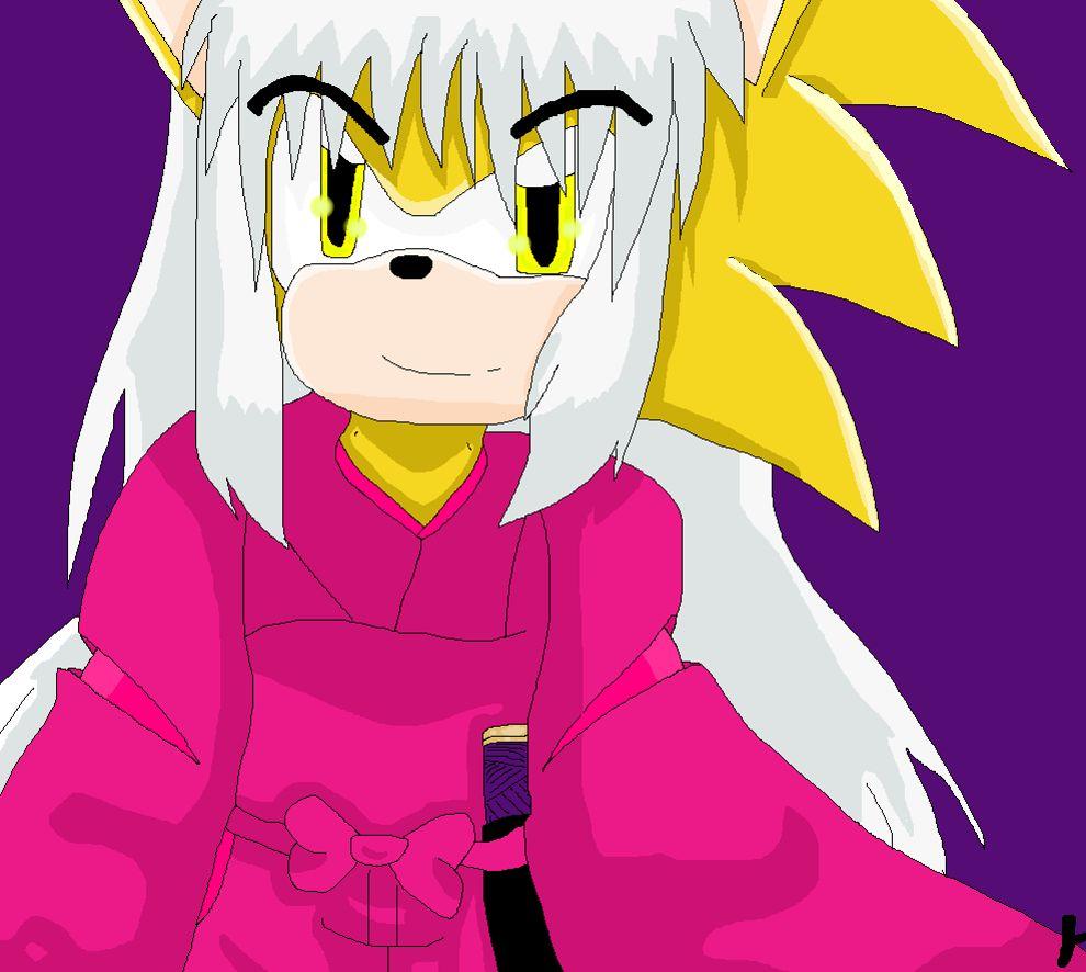 Inuyasha as a  hedgehog by allmccro
