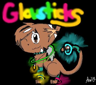 Glowsticks by anabanana