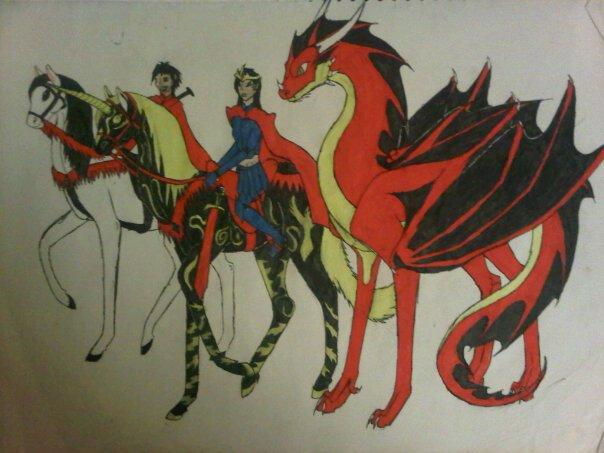 horseback ride through runescape by anaithehedgehog1