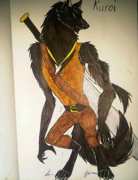 kuroi, good half by anaithehedgehog1