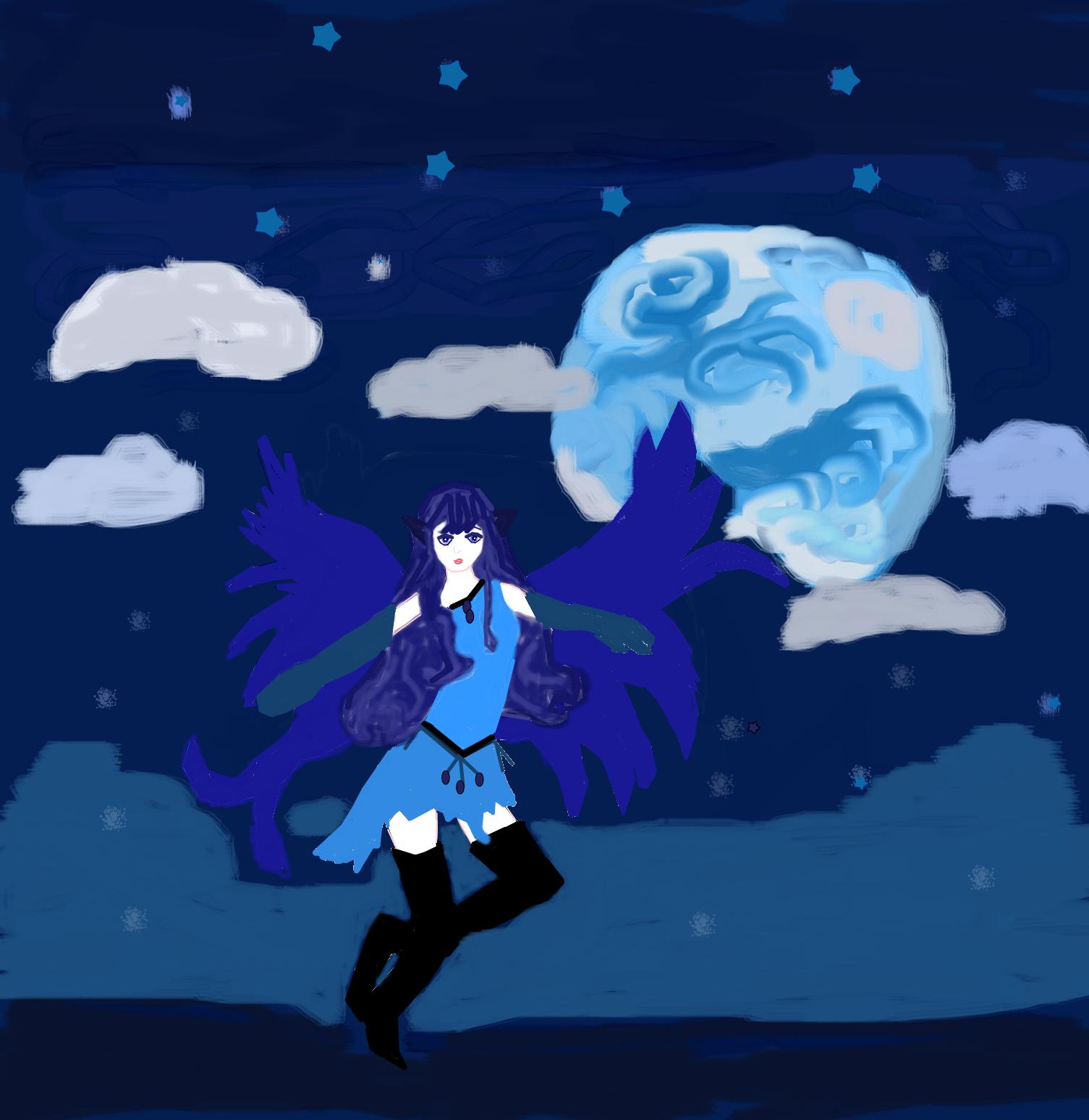 Dark Angel by andybaker