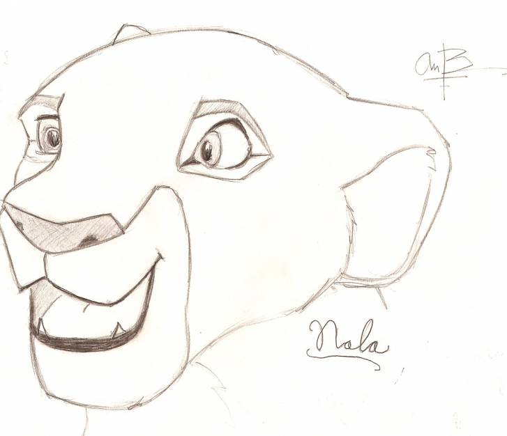 Nala is Happy to See You by andycb2000