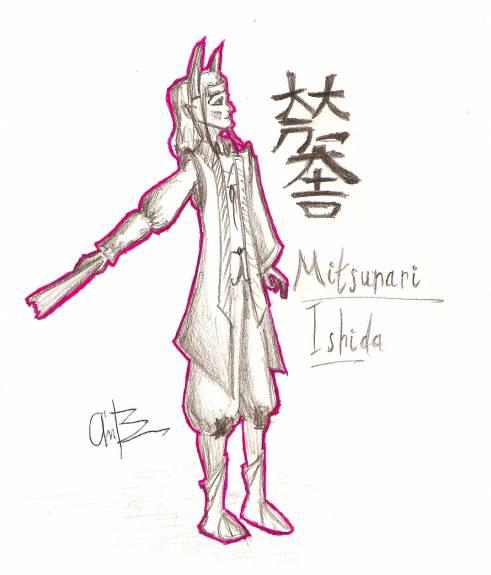 Mitsunari Ishida by andycb2000