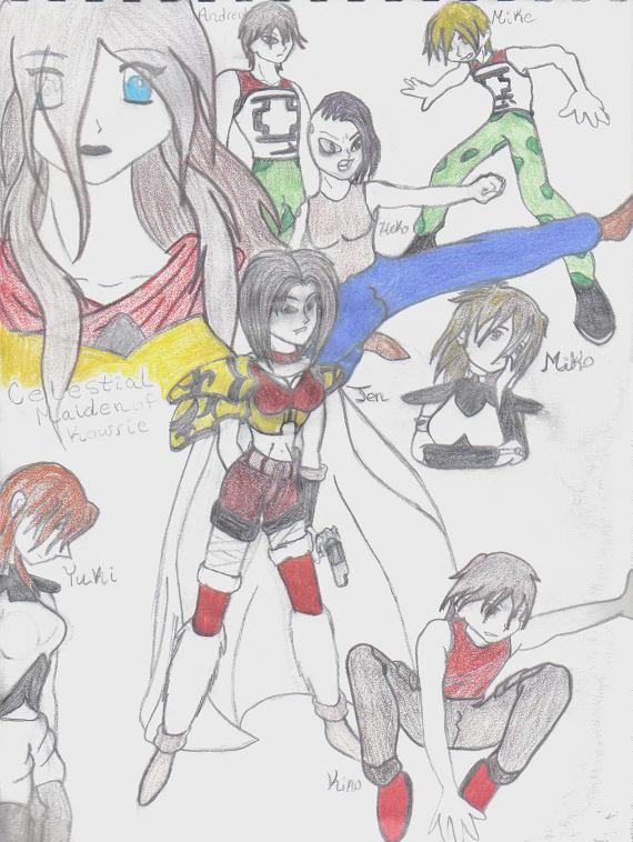 Characters from my story1 by anime_lover_13