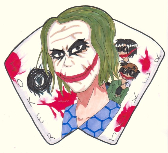 The Joker NEVER Dies... by animefanatic