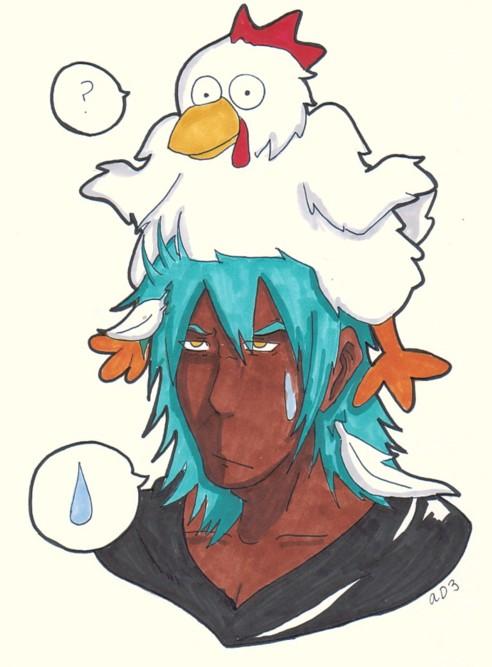 It's CHICKEN HAT Tiem! by animefanatic