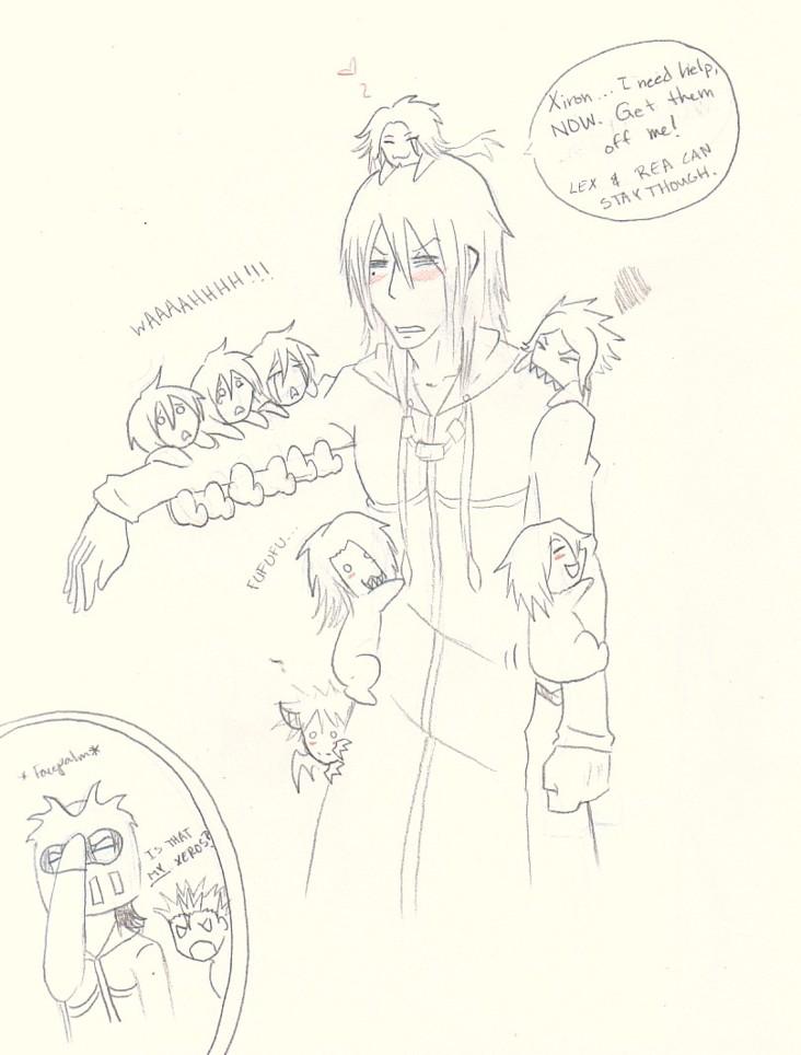 Rax and members by animefanatic